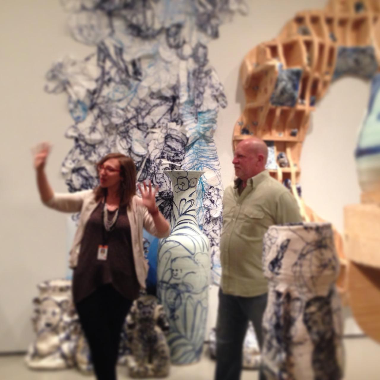 New Blue & White at the MFA Boston