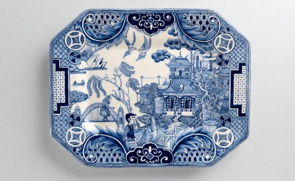 Mfa Boston New Blue And White Ferrin Contemporary