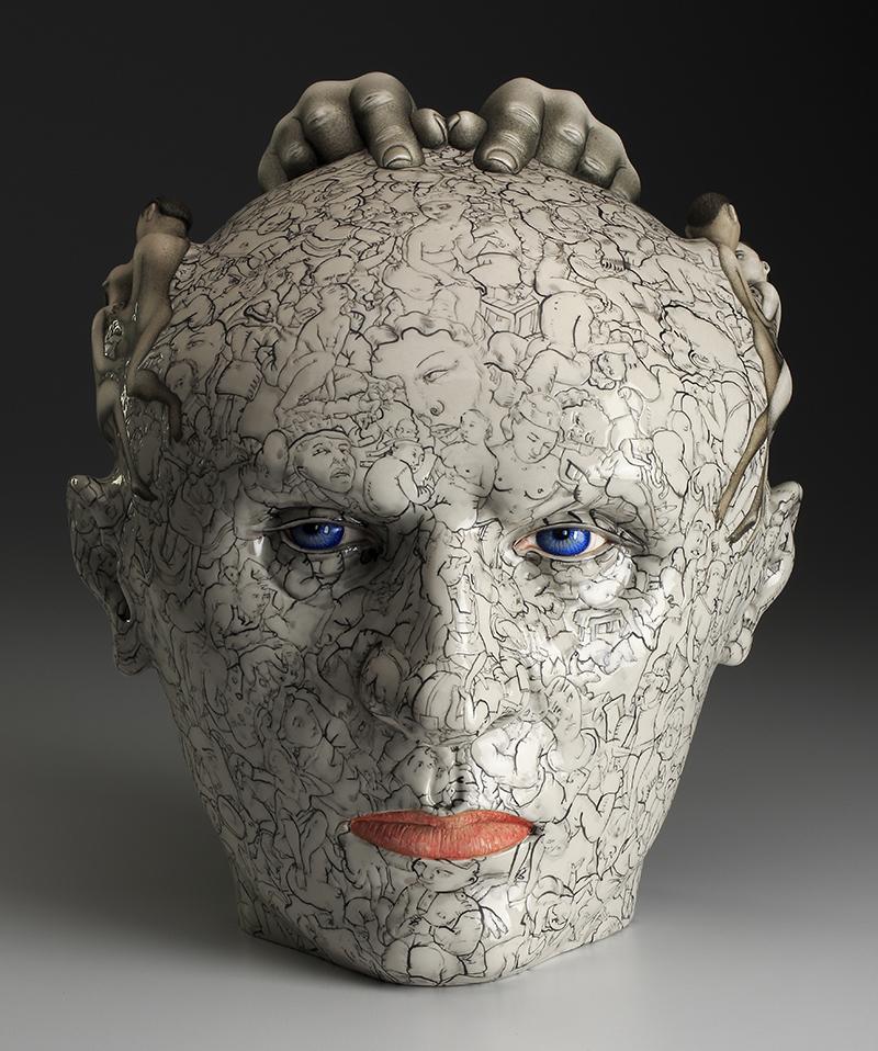 "Sergei Isupov in ""Head On"" at de Menil Gallery"