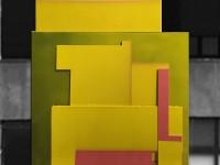"""Robert Silverman, """"Tirana"""" detail, 2015, 15 x 10'."""