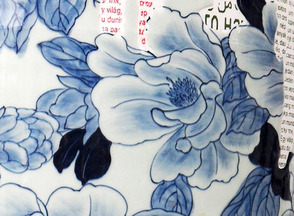 BERNARDAUD: My Blue China