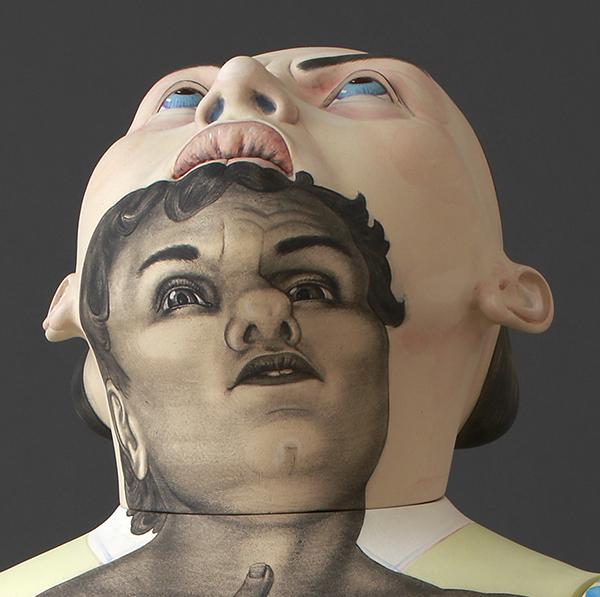 "Lowell Sun: Sergei Isupov in ""Head On"" at de Menil Gallery"