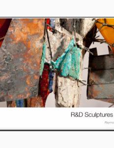 "Raymon Elozua, ""R&D Sculptures 2014"" catalog cover."