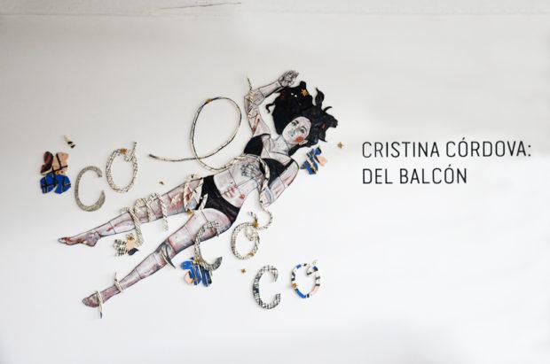 Cristina Córdova Del balcón Installation View