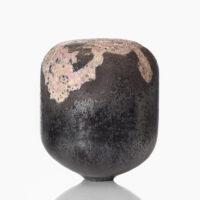 "Morten Klitgaard, ""Oro-Pink 0319"", 2019, glass, 12.5 x 11.75 x 11.75"""